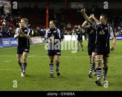 Rugby Union - Guinness Premiership - Bristol v Bath- Ashton Gate - Stock Photo