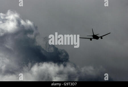 Aviation - British Airways Boeing 777 - Heathrow Airport - Stock Photo