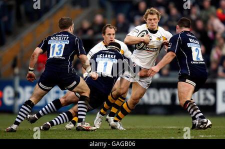Rugby Union - Guinness Premiership - Bristol v London Wasps - Memorial Stadium - Stock Photo