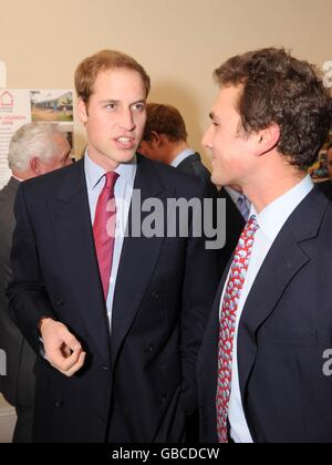 Princes launch Henry van Straubenzee Memorial Fund - Stock Photo