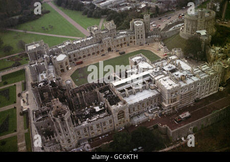 Disasters and Accidents - Windsor Castle Fire - Windsor ...