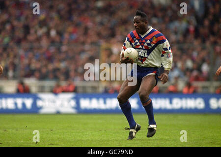 Rugby League - World Cup Final - Great Britain v Australia - Wembley Stadium - Stock Photo