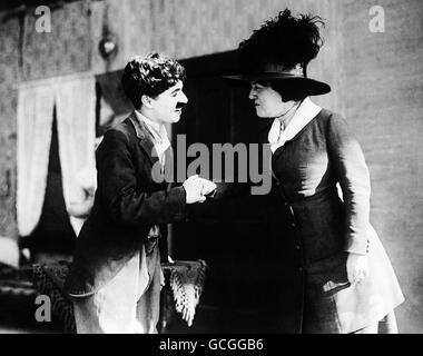 Charlie Chaplin - Stock Photo