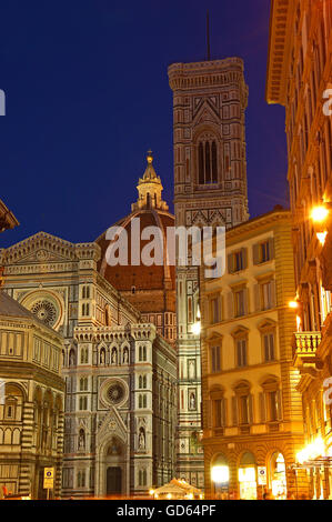 Florence, Duomo, Cathedral, Santa Maria del Fiore cathedral, Piazza del Duomo, Duomo square, Tuscany, Italy, Europe - Stockfoto