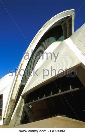 Australia, Sydney, Opera House, detail - Stock Photo
