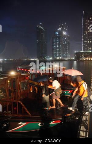 Asien, Suedostasien, Singapur, Bankenviertel, Skyline,  Die Skyline an der Marina Bay im Bankenviertel von Singapur - Stock Photo