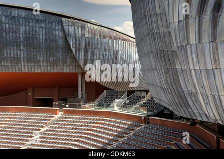 Auditorium parco della Musica in Rome, Italy - Stock Photo