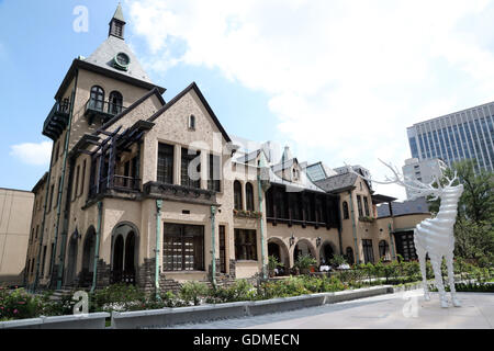Deer installation stock photo royalty free image for Classic house at akasaka prince