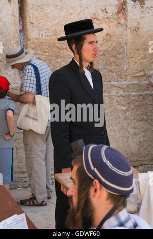 Hasidic Jewish Boy With Payot Portrait Of An Orthodox