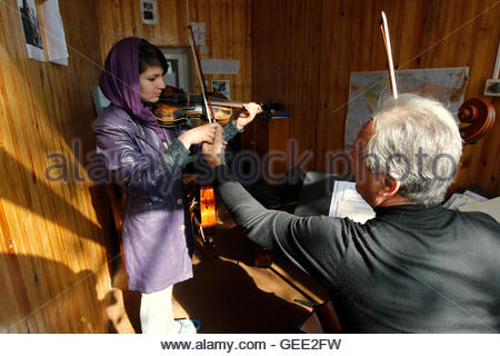 ATTENTION EDITORS - THIS IMAGE IS 23 TO ACCOMPANY A PICTURE PACKAGE ON AFGHANISTAN'S ONLY MUSIC ACADEMY, BASED IN - Stock Photo