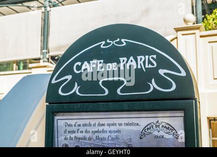Cafe De Paris Monte Carlo Coffee