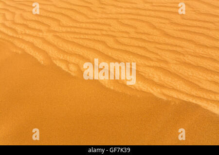 Full Frame Shot Of Sand At Desert - Stock Photo