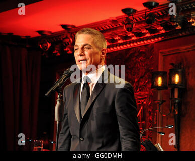 New York, NY. July 26, 2016. Tony Danza in Standards & Stories concert debut at Feinstein's/54 Below.  © Veronica - Stock Photo