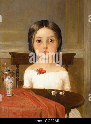 Ford Madox Brown - Millie Smith - Stock Photo