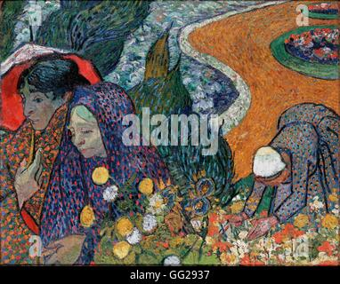39 Ladies Of Arles Memory Of The Garden At Etten 39 1888 Artist Stock Photo Royalty Free Image