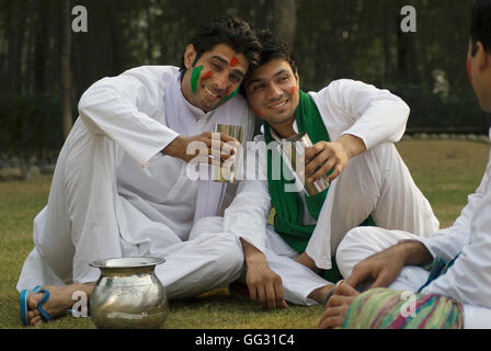Men having Bhang - Stock Photo