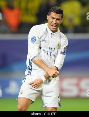 Dortmund, Germany. 27th September, 2016. Dortmund, Deutschland. 27th Sep, 2016. Cristiano Ronaldo (Real Madrid) - Stock Photo