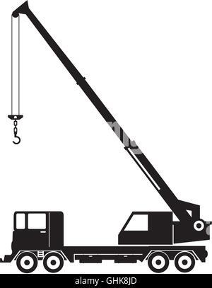how to draw a building crane