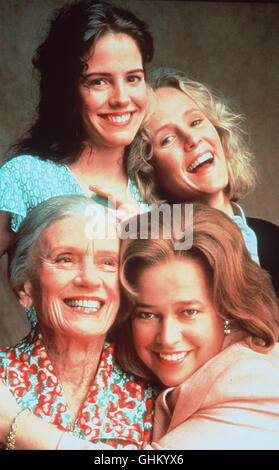 Ruth (MARY-LOUISE PARKER), Idgie (MARY STUART MASTERSON), Ninny (JESSICA TAND) und Evelyn (KATHY BATES) sind ein - Stock Photo