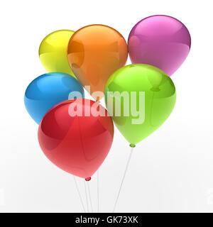 colour party celebration - Stock Photo