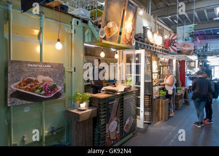 Copenhagen Food Market Duck Burger