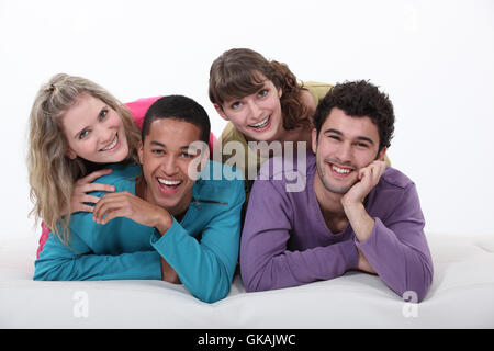 bed communication cool - Stock Photo
