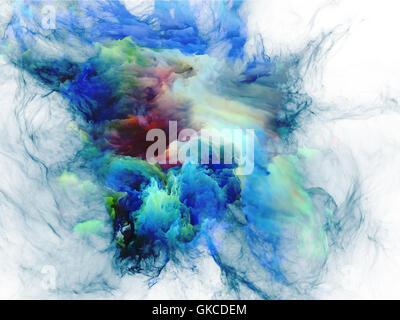 colour model design - Stock Photo