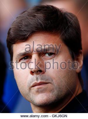 Britain Soccer Football - Tottenham Hotspur v Crystal Palace - Premier League - White Hart Lane - 20/8/16  Tottenham - Stock Photo
