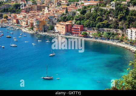 Villefranche sur Mer, French Riviera , France - Stockfoto