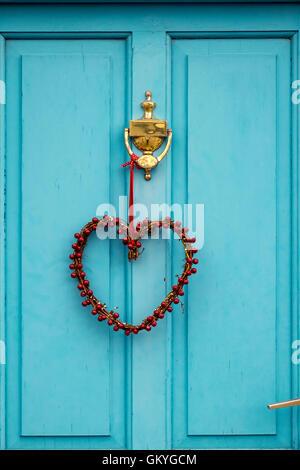 Love Heart Shaped Door Knocker Stock Photo Royalty Free