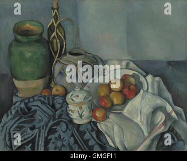 an analysis of still life with a curtain a post impressionistic painting by paul cezanne Cézanne, still life with apples, 1895-98 (moma) speakers:  top recent did  any of the impressionists or post-impressionists use cameras before painting.