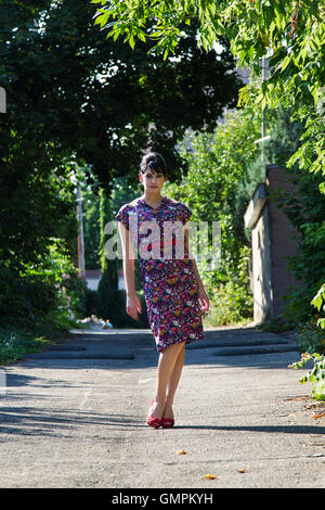 Fashion in the alley - Stockfoto