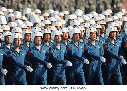 Members of the National People's Army march into the ...