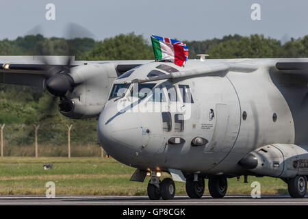 Italian Air Force (Aeronautica Militare) Alenia C-27J MM62217 - Stock Photo