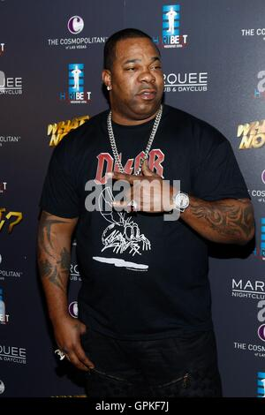 Las Vegas, NV, USA. 4th Sep, 2016. Busta Rhymes at arrivals for Third Annual HartBeat Weekend at Boulevard Pool, - Stock Photo