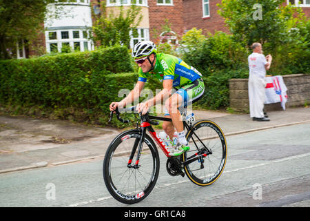 Alsager, Cheshire, UK. 6th September, 2016. Tour of Britain – Stage 3 – Sprint Stage 1 - Alsager, Cheshire – 06/09/2016 - Stock Photo