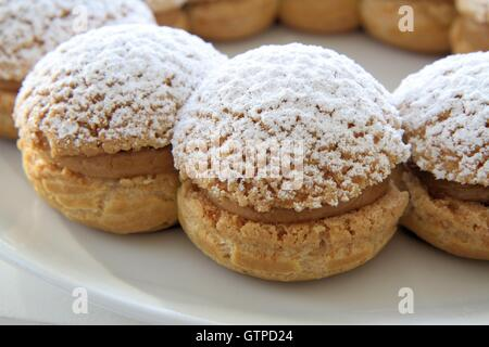 Paris Brest french pastry - Stock Photo