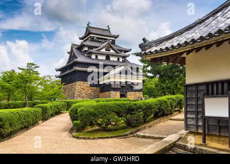 Matsue Castle of Mastue, Japan. - Stockfoto