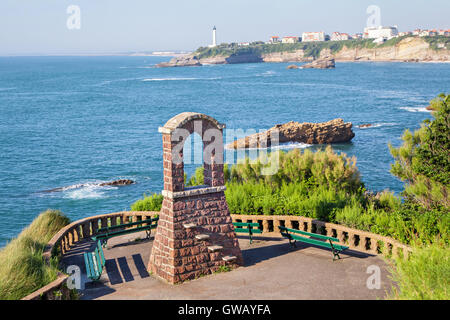 biarritz coast stock photo royalty free image 31595688 alamy. Black Bedroom Furniture Sets. Home Design Ideas