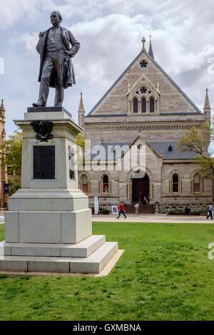 Thomas Elder Statue University Of Adelaide Adelaide South Stock Photo Royalty Free Image