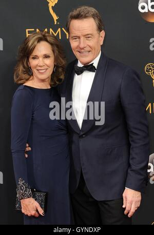 Los Angeles, CA, USA. 18th Sep, 2016. Bryan Cranston at arrivals for The 68th Annual Primetime Emmy Awards 2016 - Stock Photo