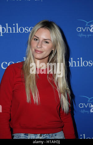 West Hollywood, Ca. 22nd Sep, 2016. Morgan Stewart attends the 'Welcome to the Age of Cool' event hosted by Philosophy - Stock Photo