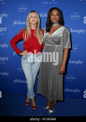 West Hollywood, Ca. 22nd Sep, 2016. Morgan Stewart, Garcelle Beauvais attends the 'Welcome to the Age of Cool' event - Stock Photo