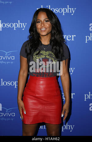 West Hollywood, Ca. 22nd Sep, 2016. Christina Milian attends the 'Welcome to the Age of Cool' event hosted by Philosophy - Stock Photo