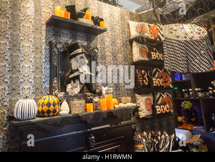 Macy 39 s halloween concept shop a partnership with grandin road a stock photo royalty free - Home decor direct sales companies concept ...