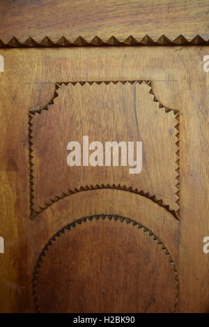 Texture image of wood from a door - Stock Photo