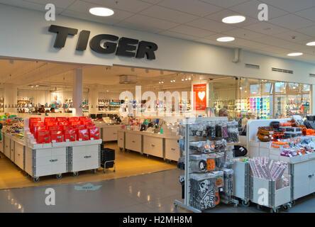 flying tiger copenhagen store in spain stock photo 130791074 alamy. Black Bedroom Furniture Sets. Home Design Ideas