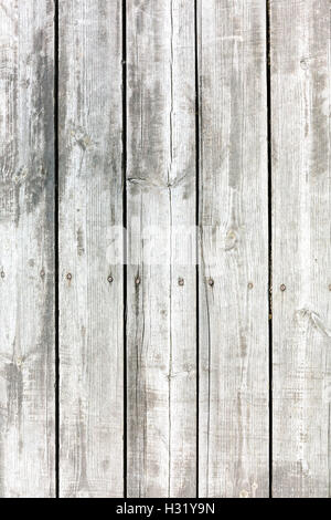 old painted wooden planks with nails texture background - Stockfoto