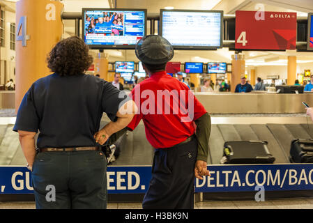 Delta Air Lines Baggage Claim In The South Terminal Of