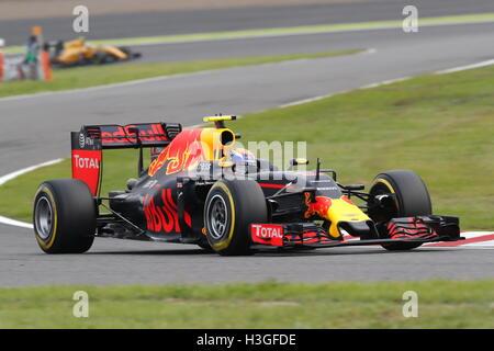 Suzuka, Japan. 8th Oct, 2016. Max Verstappen (NED) F1 : Japanese Formula One Grand Prix Qualifying at Suzuka Circuit - Stockfoto